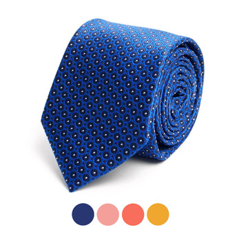 Dots Microfiber Poly Woven Tie - MPW6917
