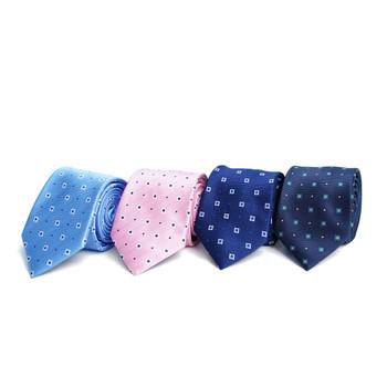 Dots Microfiber Poly Woven Tie - MPW6914