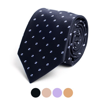 Dots Microfiber Poly Woven Tie - MPW6913