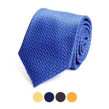 Dots Microfiber Poly Woven Tie - MPW6910
