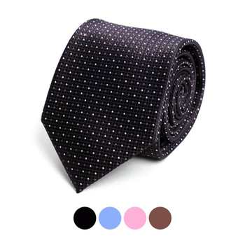 Dots Microfiber Poly Woven Tie - MPW6909