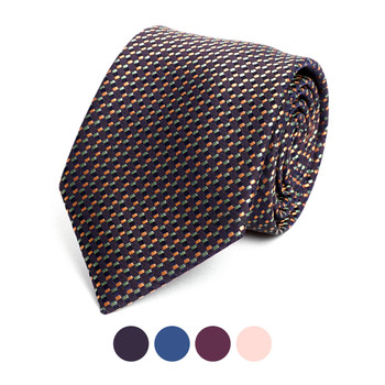 Dots Microfiber Poly Woven Tie - MPW6908