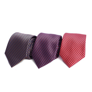 Dots Microfiber Poly Woven Tie - MPW6907