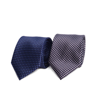 Dots Microfiber Poly Woven Tie - MPW6906