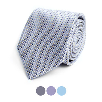 Dots Microfiber Poly Woven Tie - MPW6905
