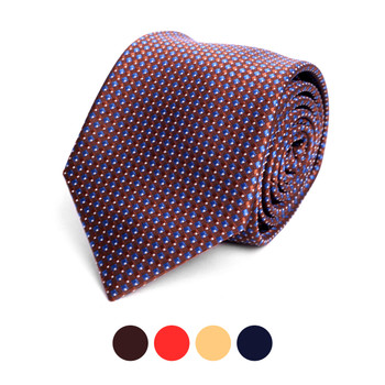 Dots Microfiber Poly Woven Tie - MPW6901