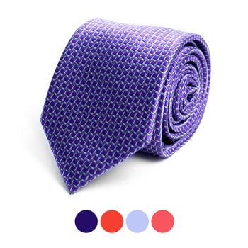 Dots Microfiber Poly Woven Tie - MPW6900
