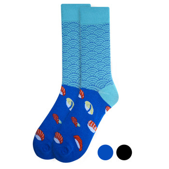 Men's Sushi Novelty Fun Socks - NVS19402