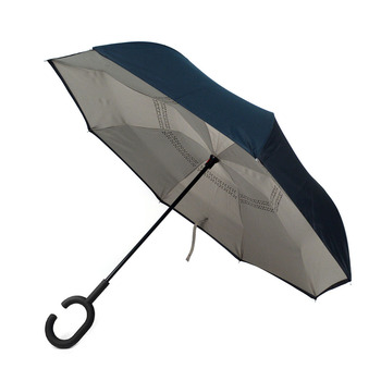 Grey Double Layer Inverted Umbrella - UM5021