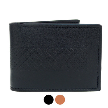 Bi-Fold Leather Men's Wallet - MLW5282