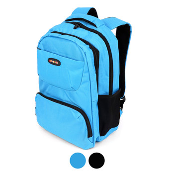 Double Compartment Solid Backpack - SBP2000