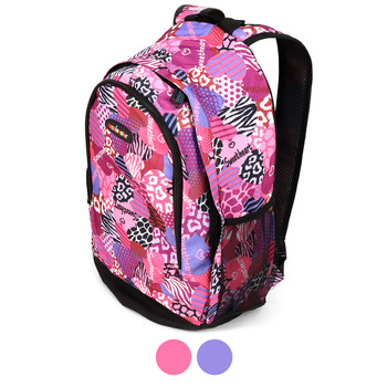 Sweetheart Mix Pattern School Backpack - FBP1200