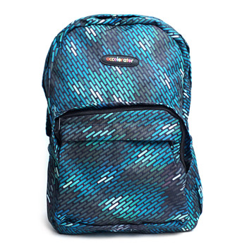 Geometric Pattern School Backpack - FBP1204