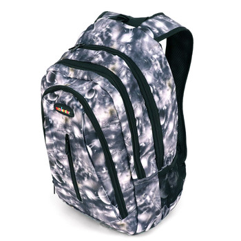 Gray Planets School Backpack - FBP1211