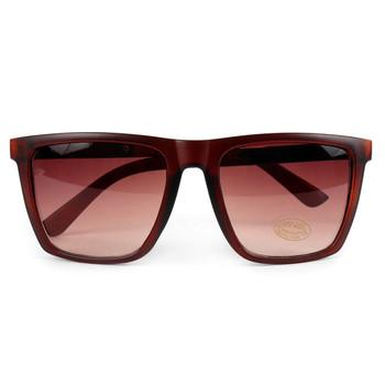 Brown Rectangular Sunglasses - MSG1006
