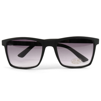 Black Matte Rectangle Sunglasses - MSG1007