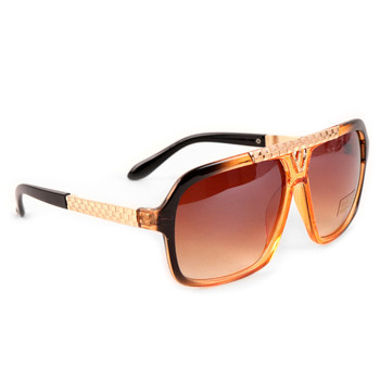 Brown Rectangular Sunglasses - MSG1008