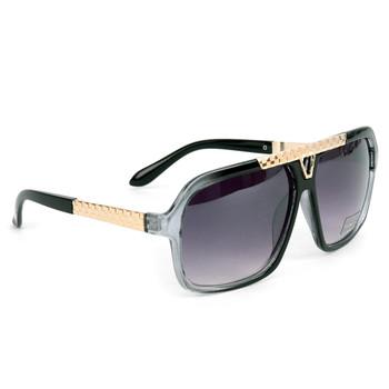Black Rectangular Sunglasses - MSG1012