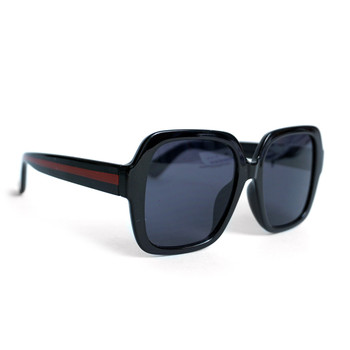 Black Ladie's Oversize Sunglasses - LSG1006
