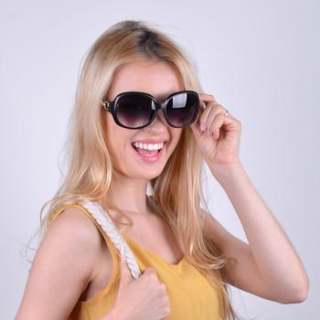 Ladies' Round Sunglasses - LSG1009