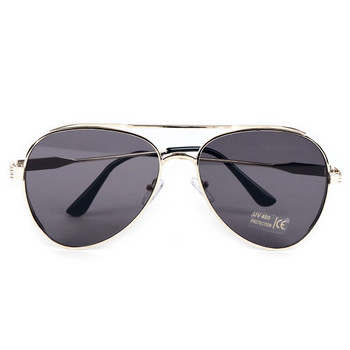 Gold Metal Frame Aviator Sunglasses - LSG1010