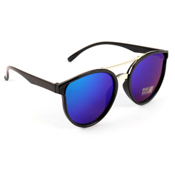 Round Mirrored Sunglasses - LSG1012