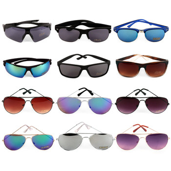 12pc Assorted Unisex Sunglasses - 12MSG1001