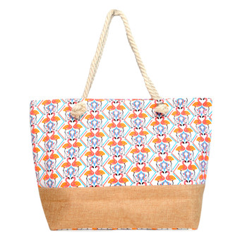 Flamingo Summer Ladies Tote Bag - LTBG1219