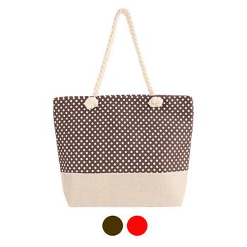 Polka Dots Ladies Tote Bag - LTBG1224