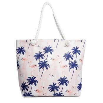 Palm Tree & Flamingo Summer Ladies Tote Bag -LTBG1234