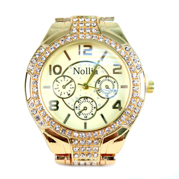 Gold Tone Ladies Dressy Watch - LWT2000-GD