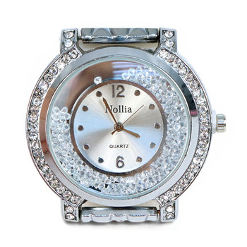 Silver Tone Ladies Dressy Watch - LWT2003-SIL