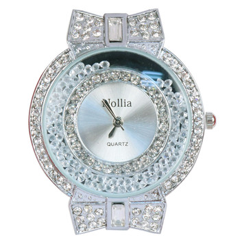 Silver Tone Ladies Dressy Watch - LWT2004-SIL