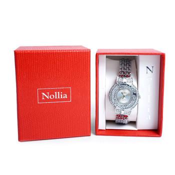 Silver Tone Ladies Dressy Watch - LWT2004-SIL