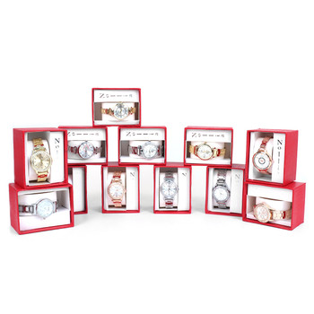 12pc Pre Pack Ladies Dressy Wrist Watch (Stainless Band)  - 12LWT2210-A