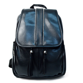 Women's PU Leather Mini Backpack - LBP2401
