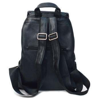 Women's PU Leather Small Backpack - LBP2403