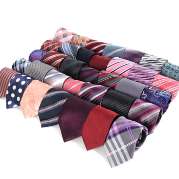 120pc Pre-pack Assorted Poly Woven Ties PW120