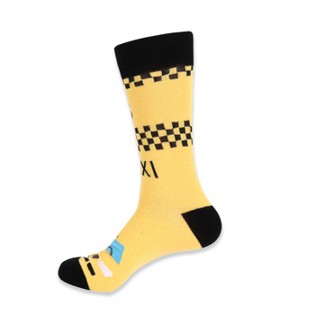 Men's Novelty NYC Taxi Socks - NVS19421