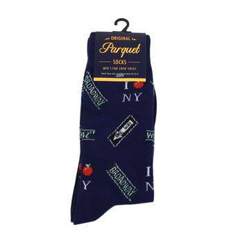 Men's Novelty New York Landmark Socks - NVS19418