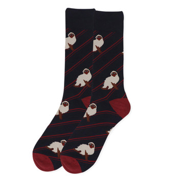 Men's Novelty Siamese Cat Socks