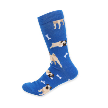 Women's Novelty Pug Dog Socks