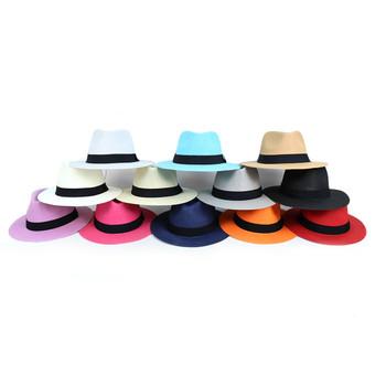 Wide Brim Fedora Hats - H190409