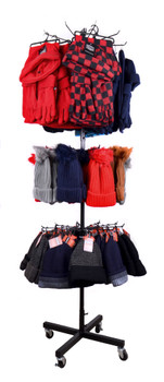 Winter Set/Hat Display Rack (items included) - ST-HTR1-WNT1