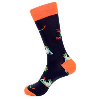 Men's Frog Novelty Socks - NVS19504-NV