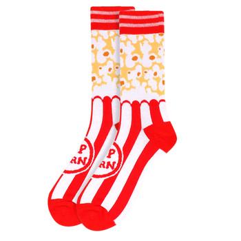 Men's Popcorn Novelty Socks - NVS19509-RD