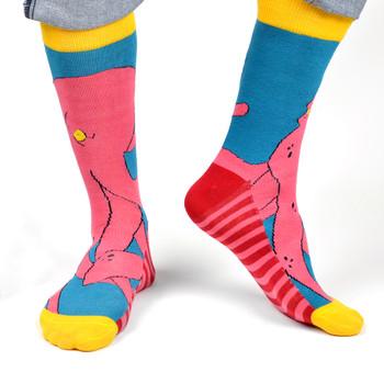 Men's Kraken Halloween Novelty Socks - NVS19514-TQ