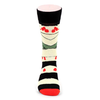 Men's Frankenstein Novelty Socks - NVS19516-IVORY