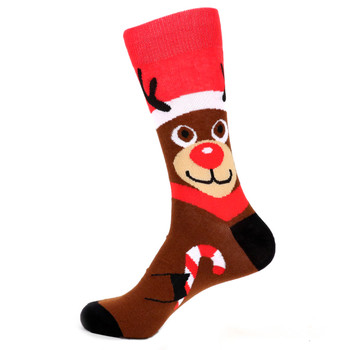 Men's Rudolph Novelty Socks - NVS19535-BR
