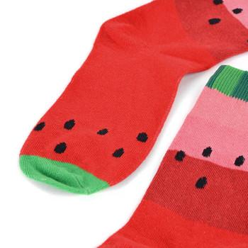 Women's Juicy Watermelon Novelty Socks - LNVS19502-RD